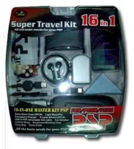 Picture of PSP: Super Travel KIt 16IN1