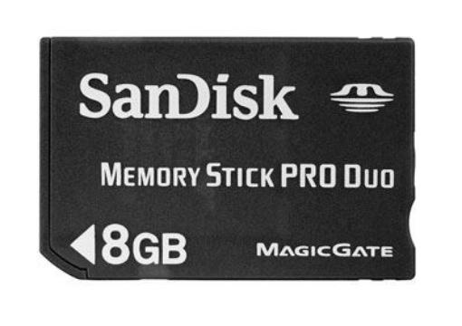 תמונה של SanDisk Memory Stick PRO Duo 8GB