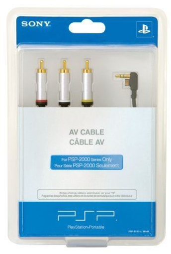 Picture of Sony PSP: AV cable