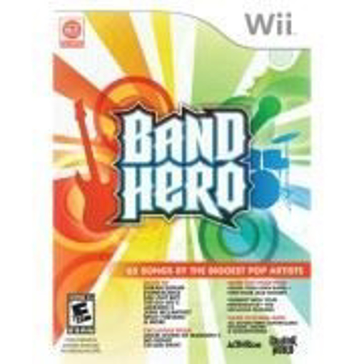 Picture of Wii PAL Band Hero Game Only