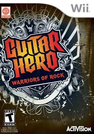 Picture of Wii Pal Guitar Hero 6 - Warriors of Rock Game Only