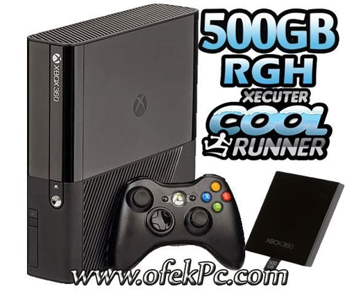 Picture of Xbox 360 500GB Slim E PAL RGH