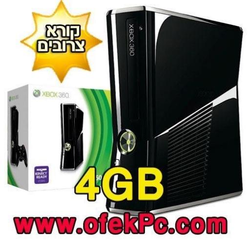 Picture of קונסולה Xbox 360 4GB מוסב RGH