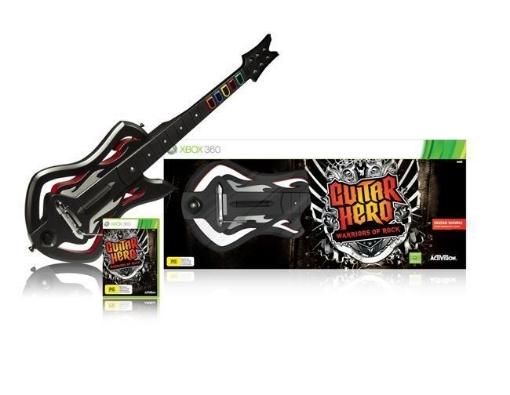 Picture of Xbox 360 Guitar Hero 6: Warriors of Rock