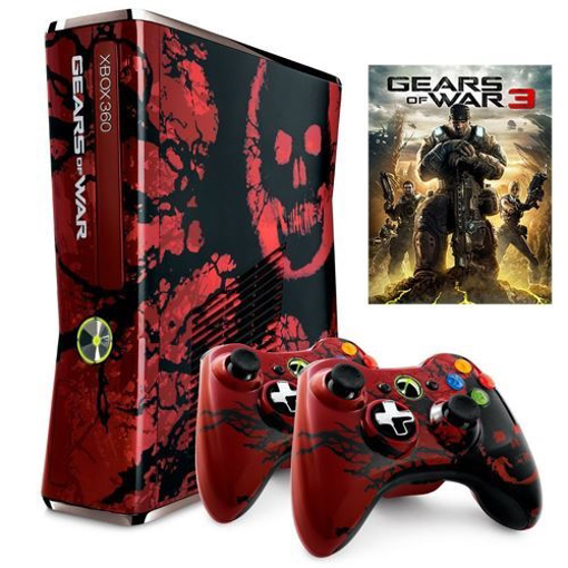 Picture of XBOX 360 Limited Edition Console 500GB RGH Gears of War 3