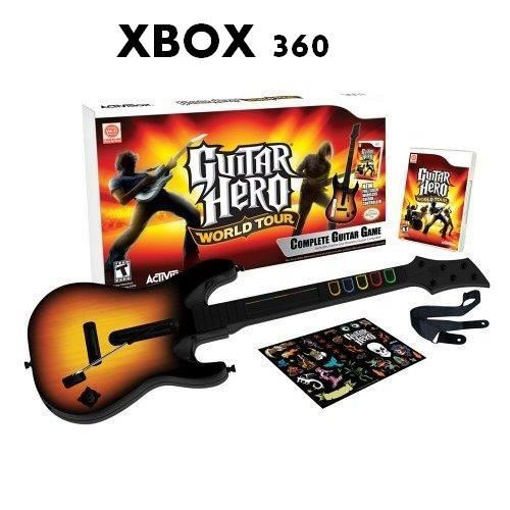 Picture of גיטרה Xbox 360 Guitar hero World Tour