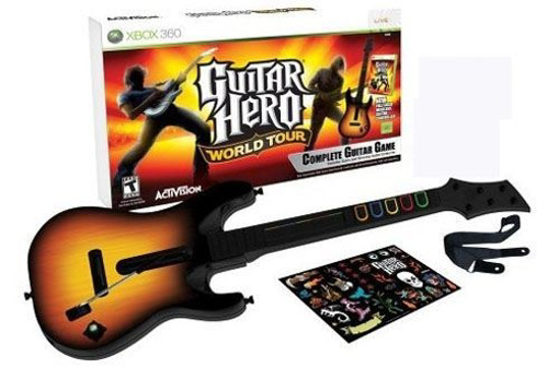 תמונה של גיטרה Xbox 360 Guitar hero World Tour