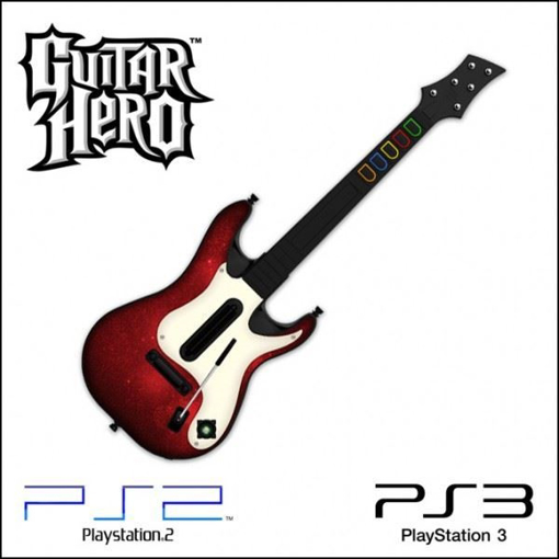 Picture of גיטרה אלחוטית מקורית PS3 Guitar Hero 5