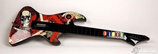 תמונה של גיטרה PS2 React Wireless Reaper Axe Revealed