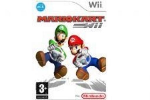 Picture of חבילה הכוללת משחק והגה MARIO KART + WHELL - Wii