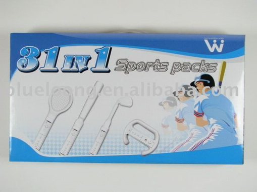תמונה של חבילת ספורט מורחבת  31in1 Nintendo Wii Sports Value Kit