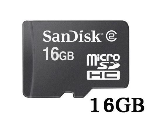 Picture of כרטיס SanDisk Micro SD 16GB ללא