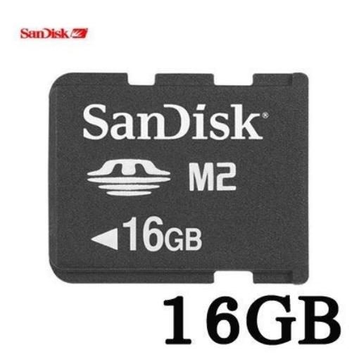 תמונה של כרטיס SanDisk MS M2 16G ללא מתאם