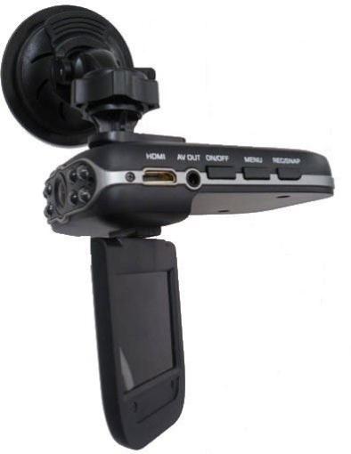 """תמונה של מצלמת וידאו לרכב באיכות HD לתיעוד הנסיעה+צג """"2.5 +תאורת לילה"""