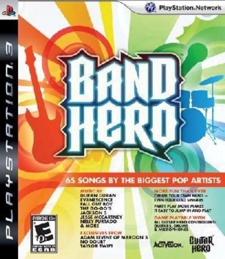 תמונה של משחק PS3 Band Hero Game Only