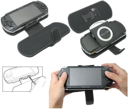 תמונה של נרתיק עור יפיפה ל-PSP