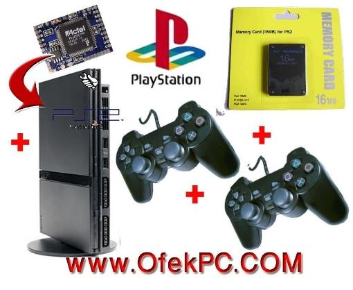 Picture of סוני Playstation 2  SCPH90004 Slim קורא צרובים