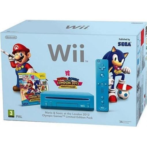 תמונה של קונסולת  Nintendo Wii PAL  ערכת מריו  וסוניק אולימפיק גיים