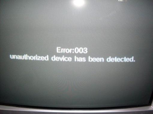 תמונה של תיקון ERROR 003
