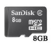 תמונה של כרטיס SanDisk Micro SD 8GB ללא