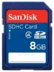 תמונה של כרטיס SanDisk SD HC  8GB