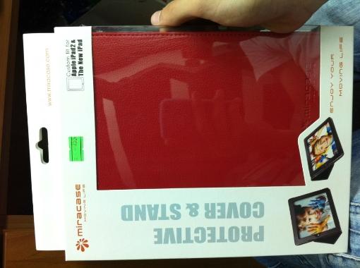 תמונה של MA-018-R iPad case - מארז יוקרתי מיוחד
