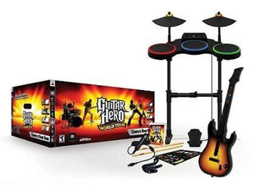 Picture of PS2 : Guitar Hero - World Tour Complete Band Pack
