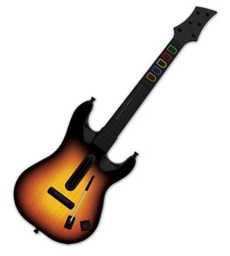 תמונה של PS2 : Guitar Hero: World Tour Guitar Bundle