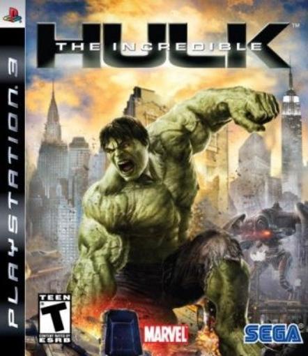 תמונה של ps3 Incredible Hulk