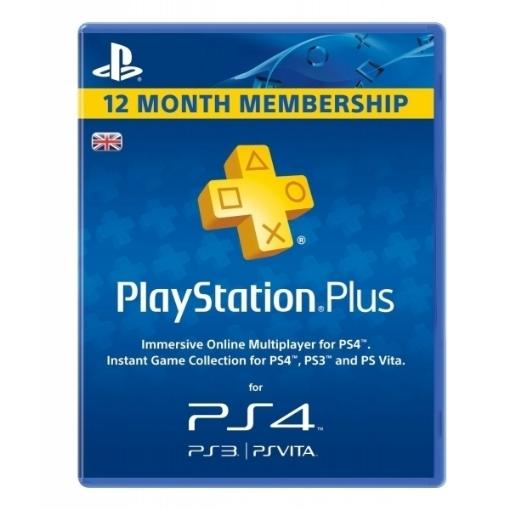 תמונה של כרטיס מנוי Sony PlayStation Plus 365 Day Subscription לשנה