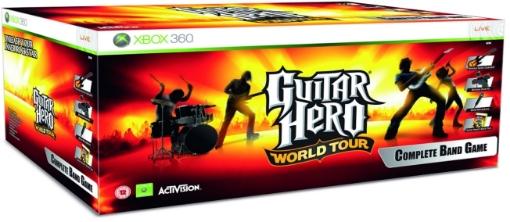 תמונה של XBOX360  Guitar Hero - World Tour Complete Band Pack
