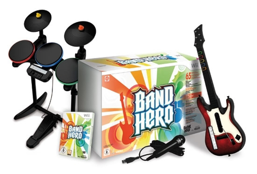 Picture of PS2 Band Hero set Super Bundle