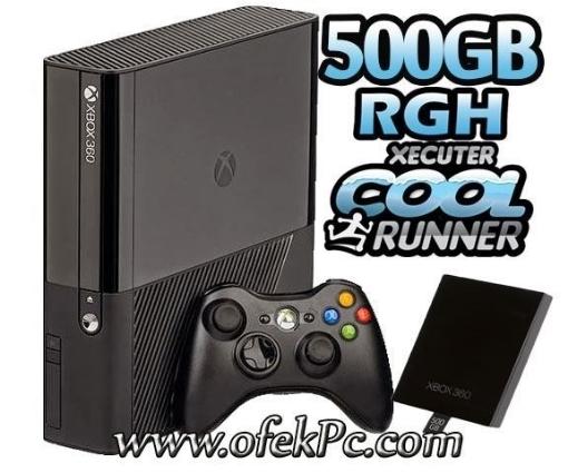 תמונה של Xbox 360 250GB Slim קורא צרובים מתקליטורים +מדיסק קשיח