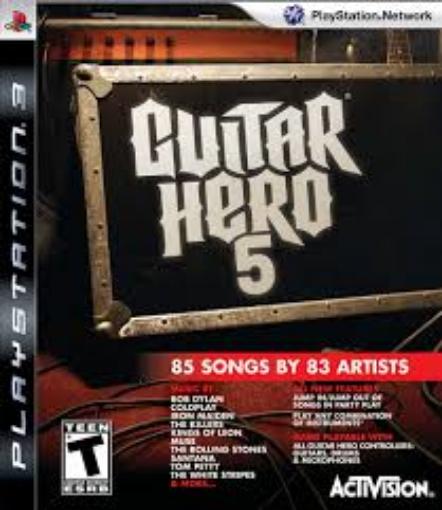תמונה של PS3 Guitar Hero 5