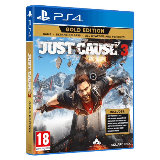 תמונה של ps4 just case 3 gold edition