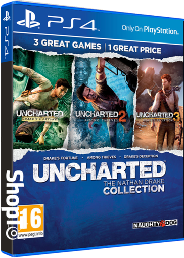 Picture of ps4 uncharted the nathan drake collection
