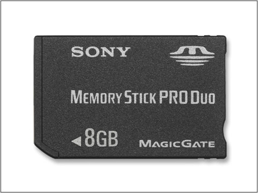 Picture of Sony Memory Stick PRO ™ 8GB