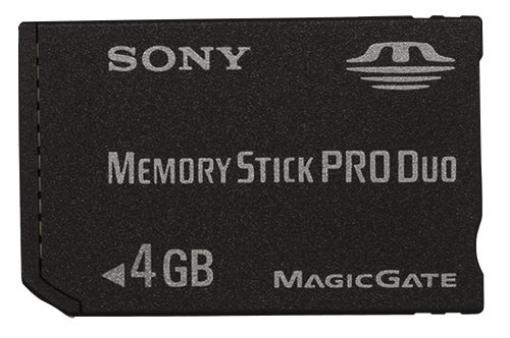 תמונה של Sony Memory Stick PRO ™ 4GB