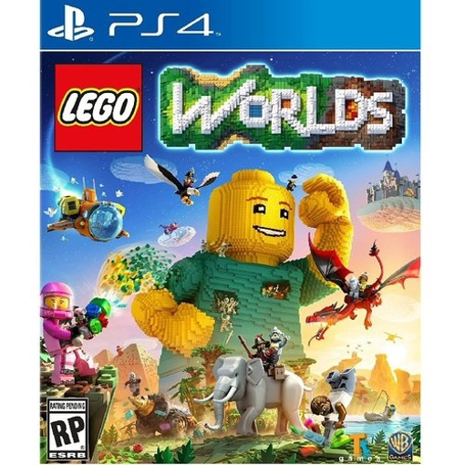 Picture of ps4 lego worlds