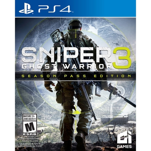 Picture of PS4 sniper ghost warrior 3 season pass edition
