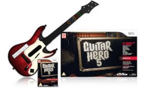 תמונה של Wii Guitar Hero 5