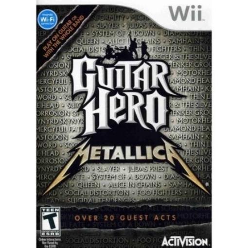 Picture of גיטרה אלחוטית מקורית Wii Guitar Hero Metallica
