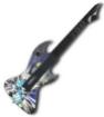 תמונה של גיטרה אלחוטית  ל React Rebel Yell PC Wireless Guitar , PC