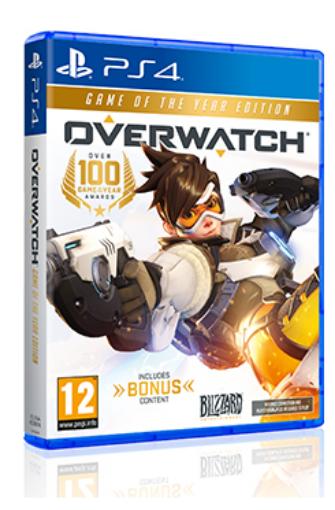 תמונה של PS4 Overwatch game of the year edition