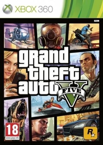 Picture of Xbox 360 GTA V Grand Theft Auto V