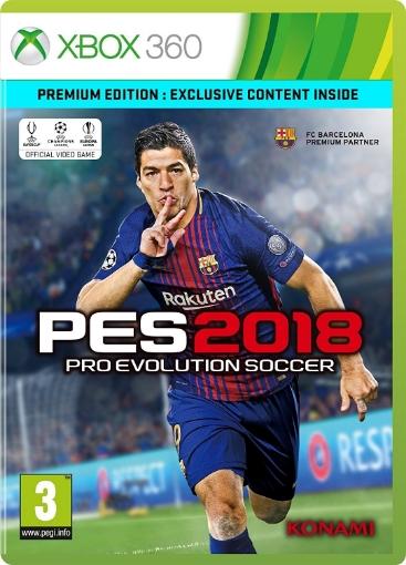 תמונה של PES 18 Pro Evolution Soccer 2018 Premium Edition Xbox 360