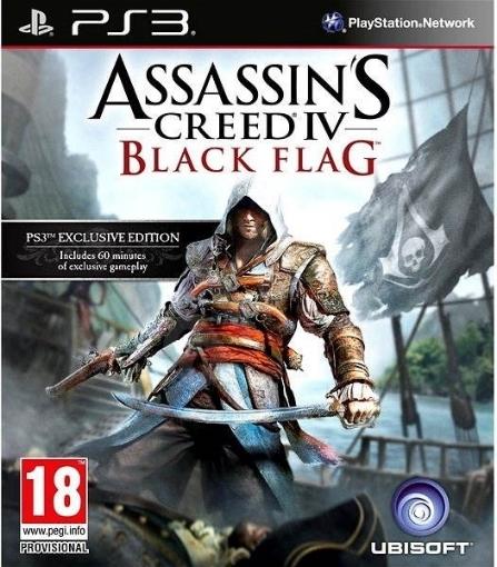 תמונה של ps3 Assassins Creed IV Black Flag