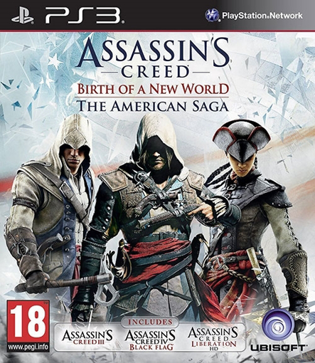 Picture of PS3 ASSASSINS CREED THE AMERICAN SAGA