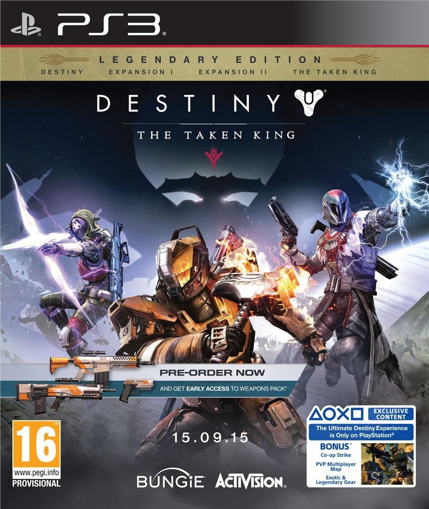 Picture of PS3 DESTINY THE TAKEN KING