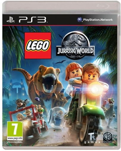תמונה של PS3 LEGO JURASSIC WORLD + TOY
